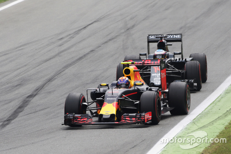 Max Verstappen (NLD) Red Bull Racing RB12