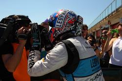 Race winner Stefano Comini, Leopard Racing, Volkswagen Golf GTI TCR