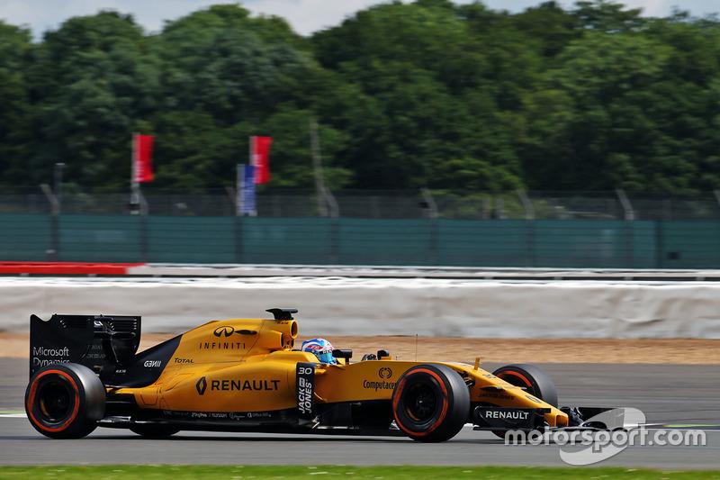 Джолион Палмер, Renault Sport F1 Team RS16