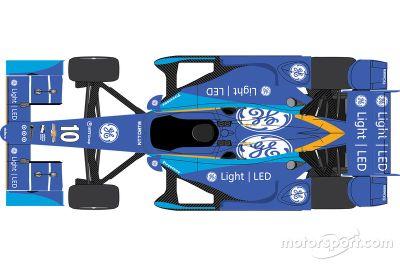 Chip Ganassi Racing livery aankondiging