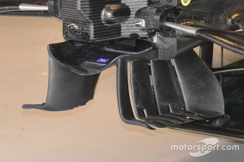 Mercedes AMG F1 W07 detail