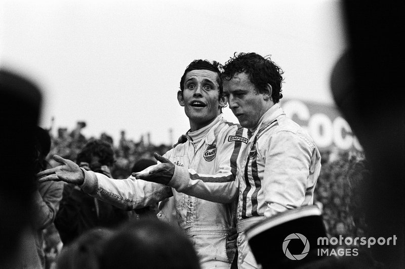 Ickx and Oliver won Sebring and Le Mans in '69, but at least in the French enduro classic, Oliver credited the JWA management as being the prime cause of success.