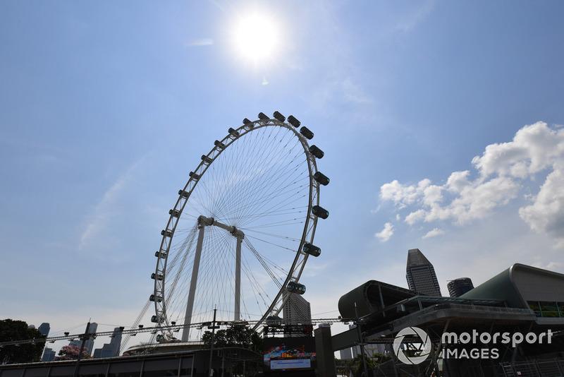 La gran noria de Singapur