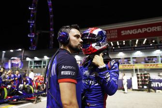 Pierre Gasly, Scuderia Toro Rosso, on the grid