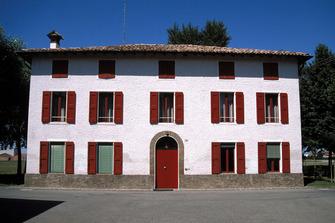 La maison d'Enzo Ferrari en 1987