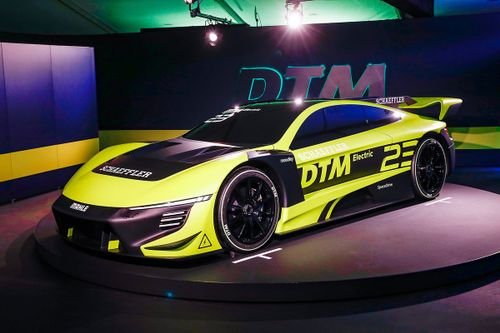 DTM представил элетромобиль