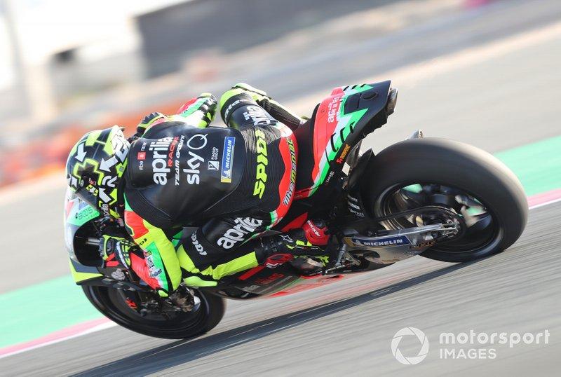 19 место - Андреа Янноне, Aprilia Racing Team Gresini