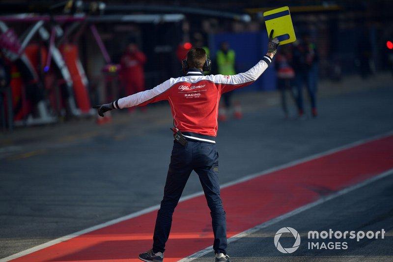 Механік Alfa Romeo Racing