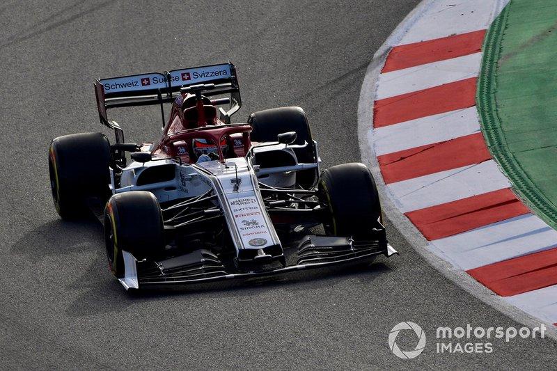 Кімі Райкконен,, Alfa Romeo Racing C38