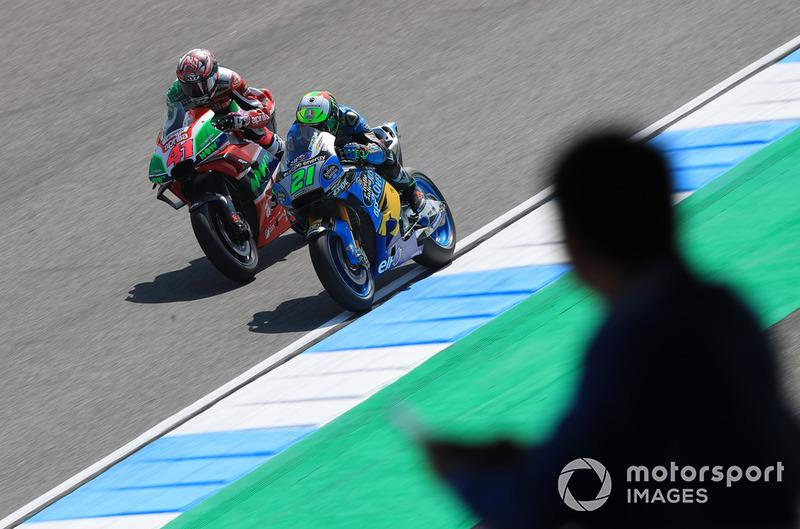 Aleix Espargaro, Aprilia Racing Team Gresini, Franco Morbidelli, Estrella Galicia 0,0 Marc VDS
