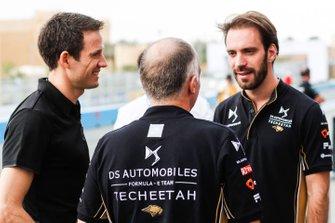 Le Champion du monde des rallyes, Sébastien Ogier avec Jean-Eric Vergne, DS TECHEETAH
