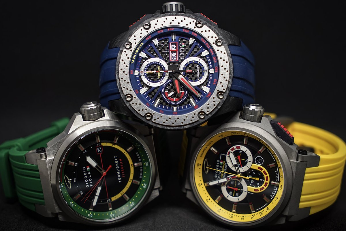 Giorgio Piola Speedtrap watches
