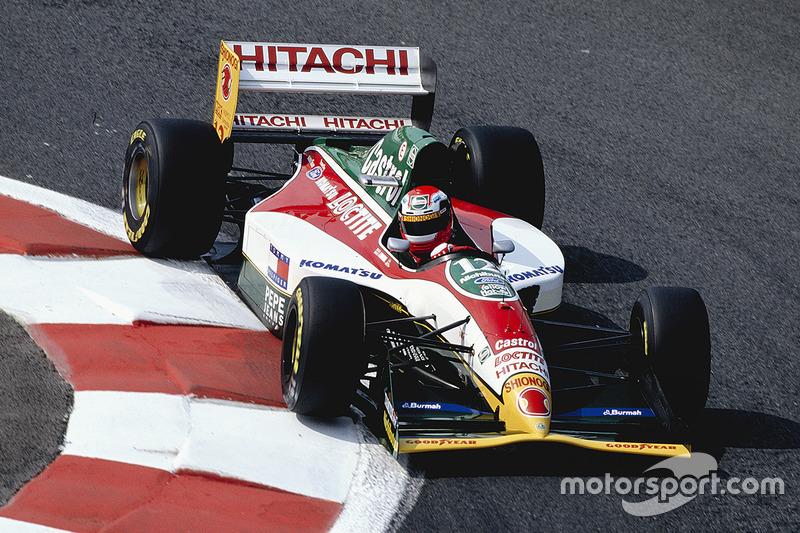 Johnny Herbert, Team Lotus 107B Mugen Honda