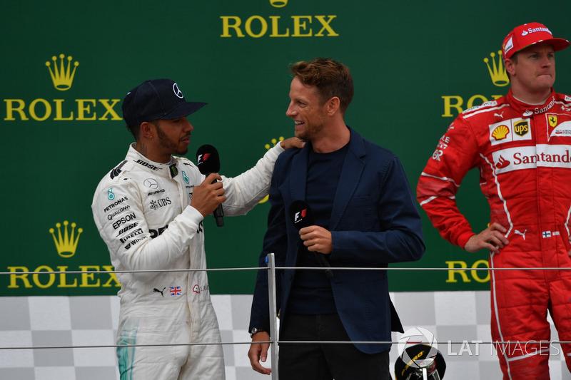Льюіс Хемілтон, Mercedes AMG F1, Дженсон Баттон