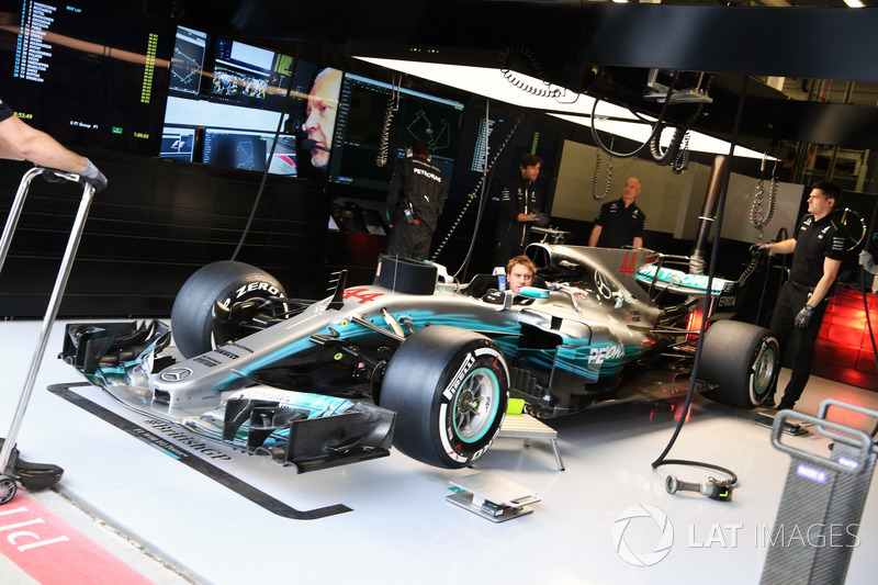 Auto von Lewis Hamilton, Mercedes AMG F1 W08