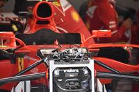 Ferrari SF70H, Vorderradaufhängung, Detail
