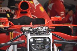 Ferrari SF70H, detail front suspension