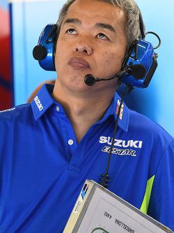 Shinichi Sahara, Team Suzuki MotoGP project leader