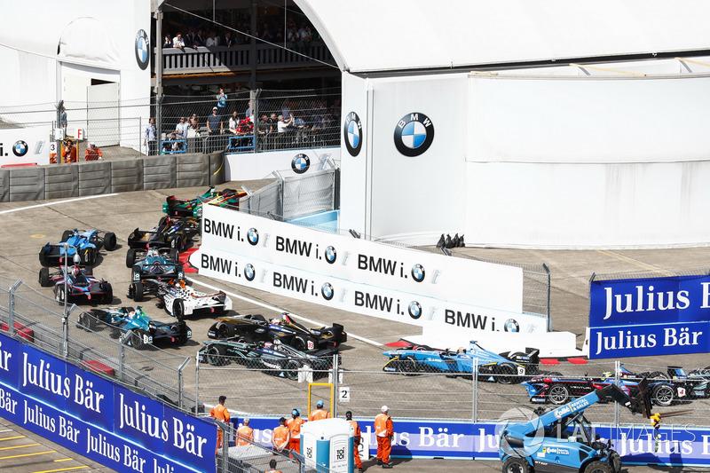 Aksi balapan, Berlin ePrix