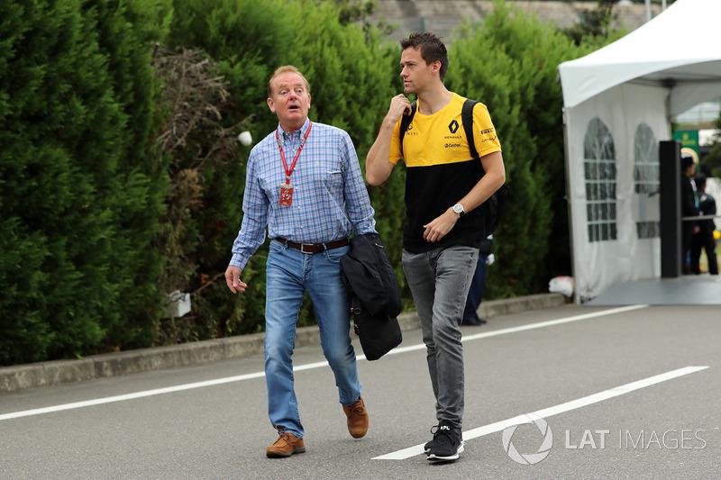 Jolyon Palmer, Renault Sport F1 Team co su padre Jonathan Plamer