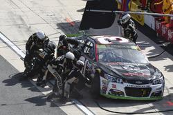 Ryan Newman, Richard Childress Racing Chevrolet makes a pit stop