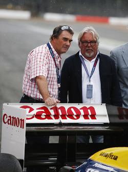 Nigel Mansell, Keke Rosberg