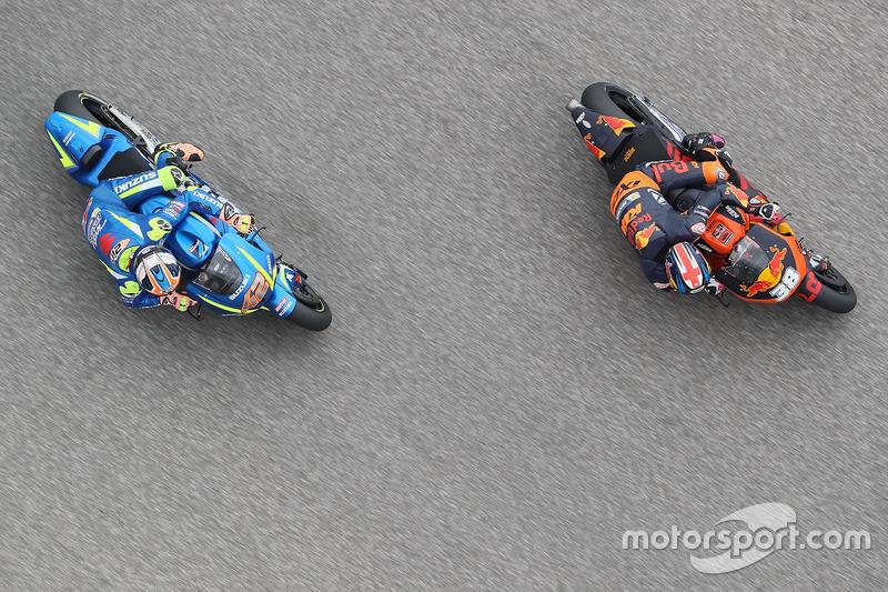Alex Rins, Team Suzuki MotoGP, Bradley Smith, Red Bull KTM Factory Racing