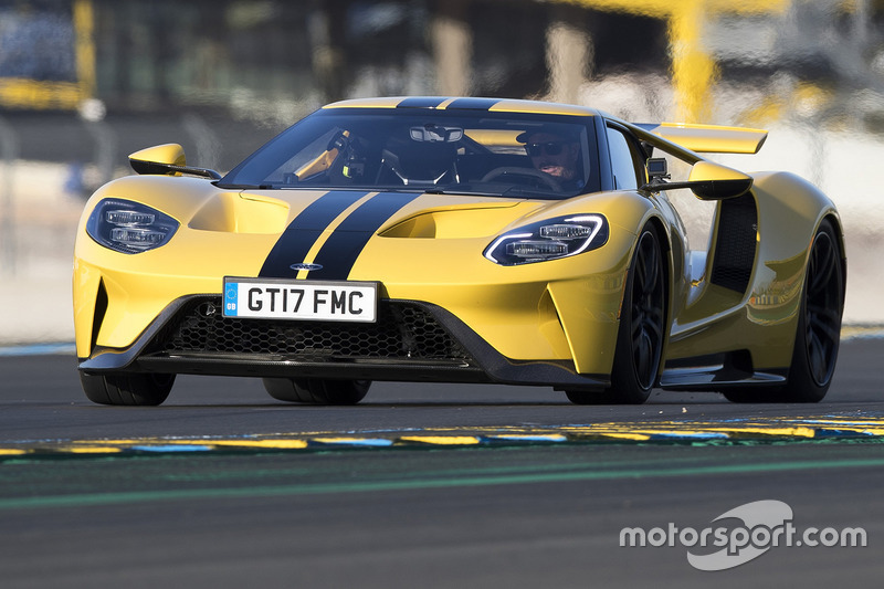 Ken Block Drives The Ford Gt