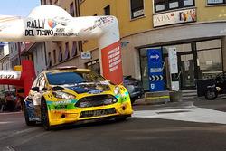 Sébastien Carron, Vincent Landais, Ford Fiesta R5, D-Max Swiss