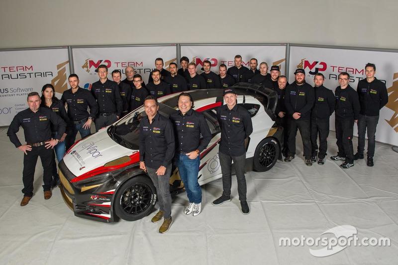 Kevin Ericsson, Timo Scheider, Max Pucher, Ford Fiesta, MJP Racing Team Austria