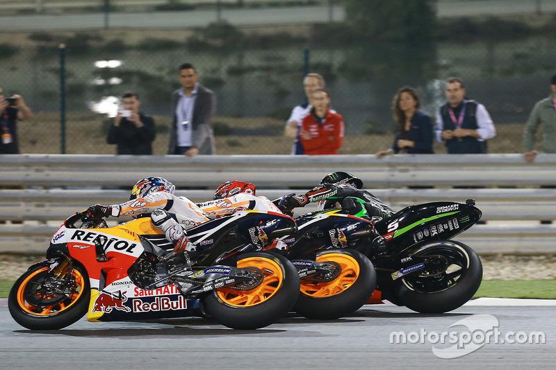 Dani Pedrosa, Repsol Honda Team, Marc Marquez, Repsol Honda Team, Johann Zarco, Monster Yamaha Tech 3
