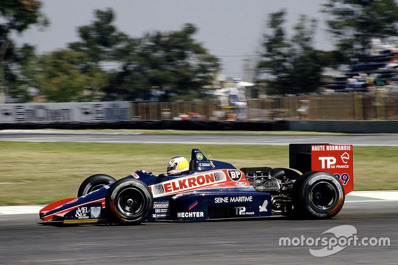 #29: Yannick Dalmas, Larrousse/Lola LC87, Cosworth
