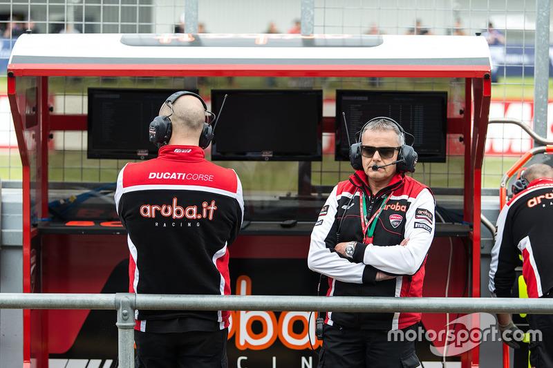 Serafino Foti, Ducati Team