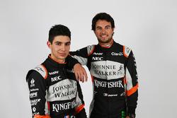 Esteban Ocon, Sahara Force India F1 Team con Sergio Pérez, Sahara Force India F1