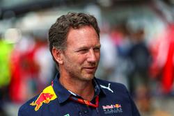 Christian Horner, jefe de equipo de carreras de Red Bull