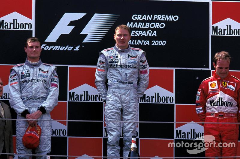 A primeira vitória de 2000 veio apenas na Espanha