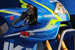 Alex Rins, Team Suzuki MotoGP,Suzuki fairing detail