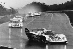 Vern Schuppan, George Fouche, Keiichi Suzuki, Porsche 956 leads