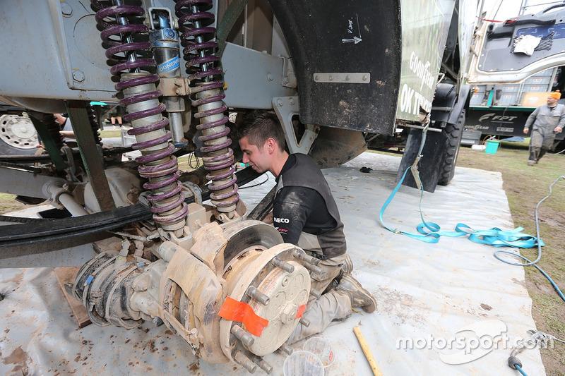 Mecánica del equipo de Rooy
