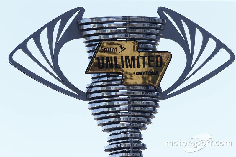 El trofeo Sprint Unlimited