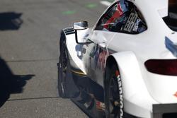 Paul Di Resta, Mercedes-AMG Team HWA, Mercedes-AMG C63 DTM with the falt tyre