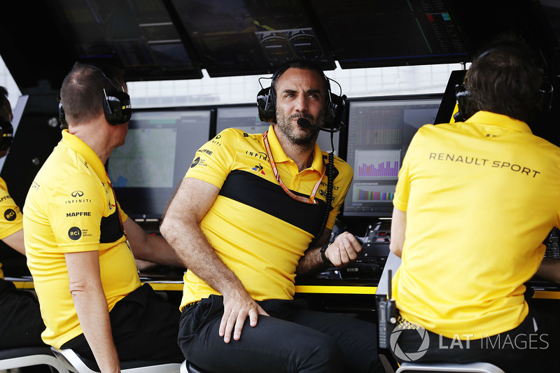 Cyril Abiteboul, director general de Renault Sport F1 Team