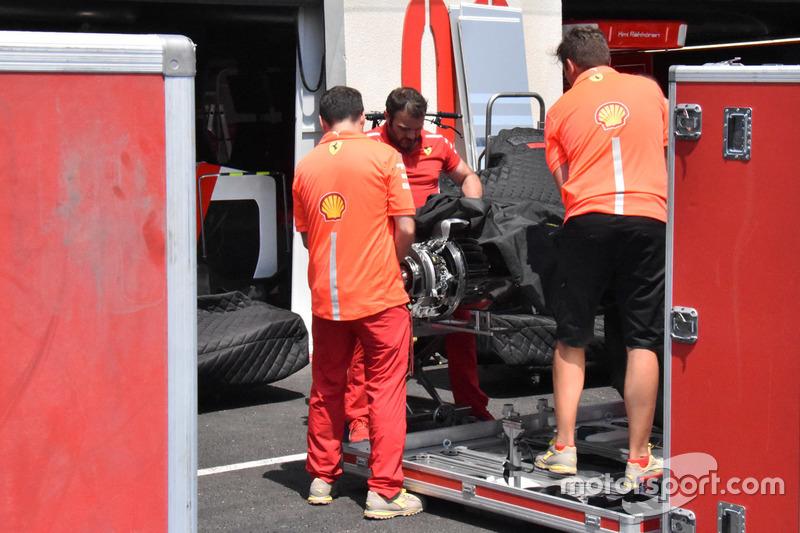 Ferrari SF71H, dettaglio