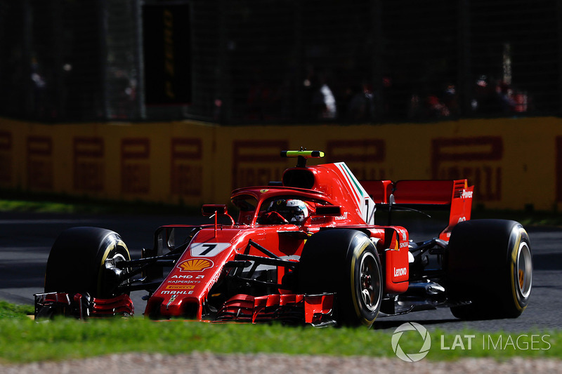 Raikkonen mengeluh tidak mendapat informasi dari pitboard di FP1