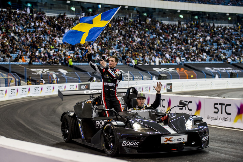 Johan Kristoffersson en Joel Eriksson, Team Sweden