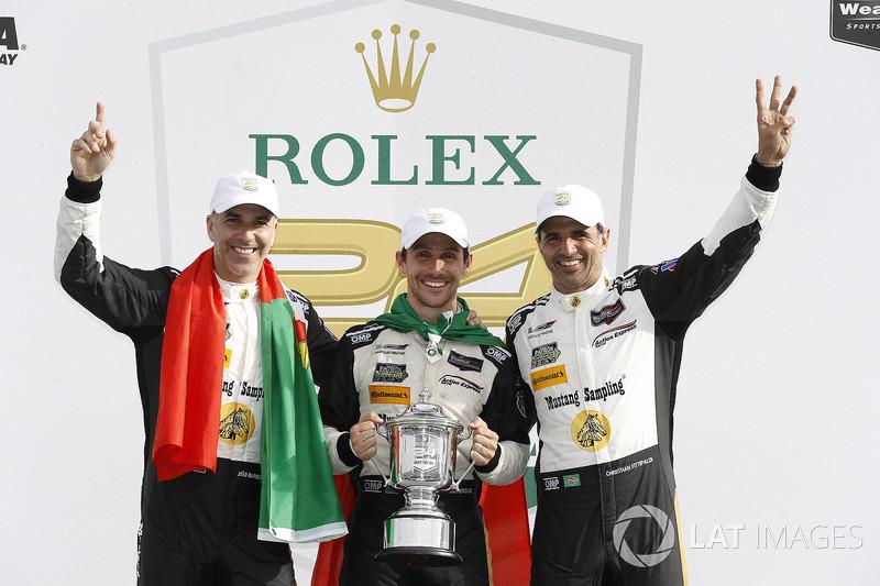 24 horas de Daytona: João Barbosa, Christian Fittipaldi, Filipe Albuquerque, Action Express Racing
