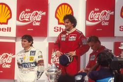Podium: 1. Alain Prost, McLaren; 2. Nelson Piquet, Williams; 3. Stefan Johansson, McLaren
