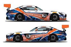 Robinson Racing Mercedes AMG GT3