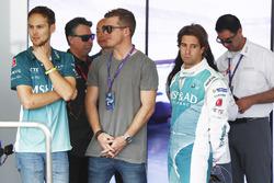 Tom Blomqvist, Antonio Felix Da Costa, Andretti Formula E, in the garage
