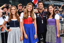 Даніель Ріккардо, Red Bull Racing, дівчата